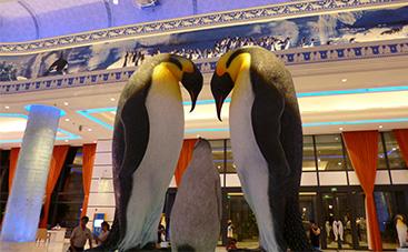 ペンギンホテルロビー