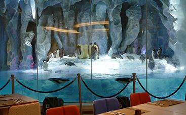 名物のペンギンレストラン