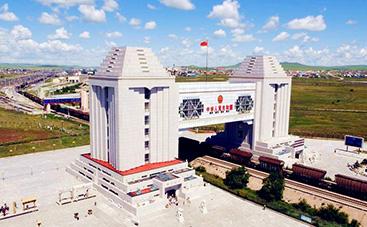 中露国境の門