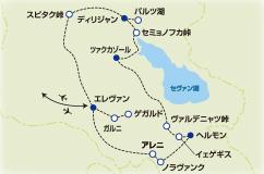 花のコーカサス山麓 アルメニア・フラワーウォッチングの旅【10日間】