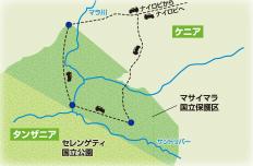 東西マサイマラ国立保護区でヌーの大移動を追う こだわりのサファリの旅【10日間】