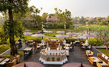タイの美食を味わうレストラン