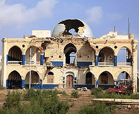 旧エチオピア皇帝の宮殿