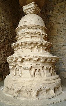 ガンダーラの遺構が数多く残るタキシラ