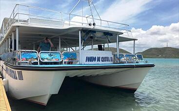 パルゲラ湾の船