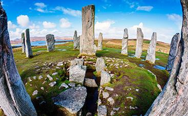カラニッシュの古代巨石柱群