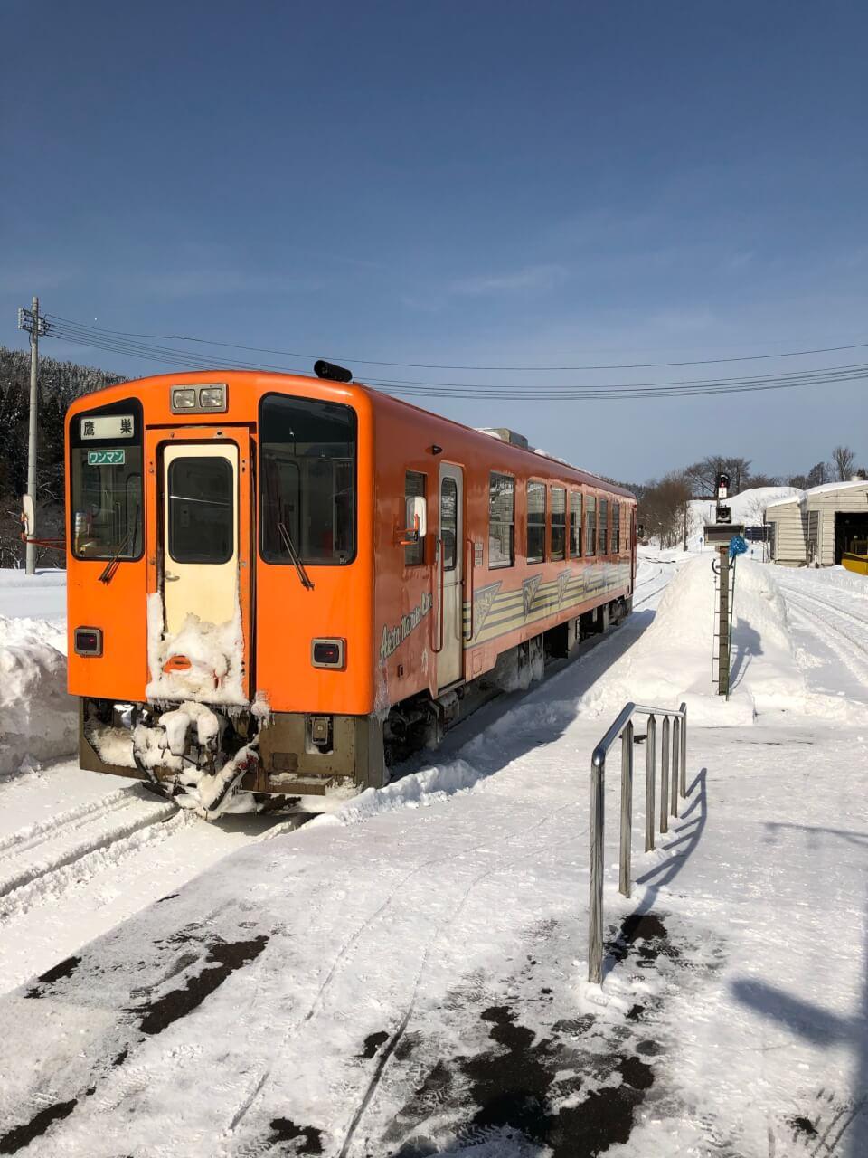 【国内・東北】 ローカル線「秋田内陸縦貫鉄道」とみちのく山間の秘湯