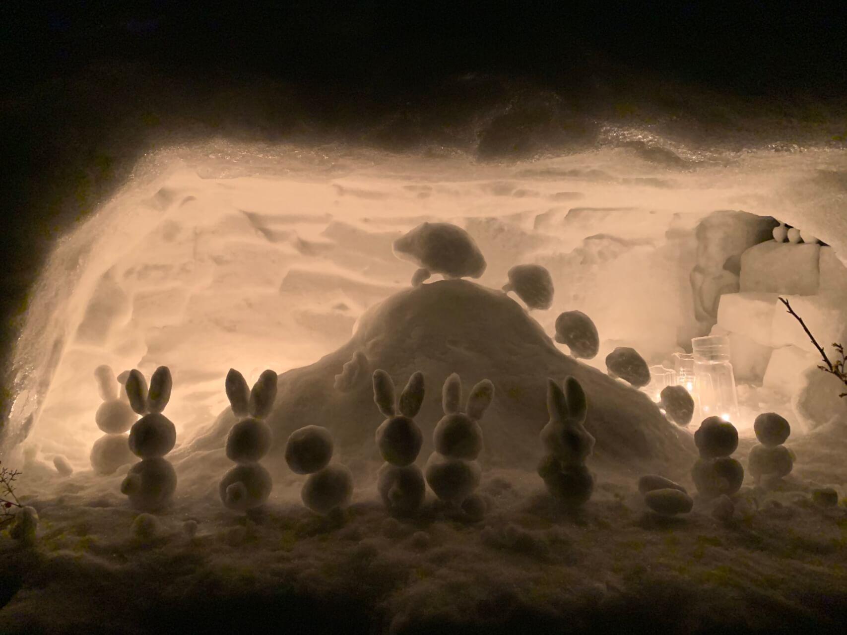 【国内・東北】 月山志津温泉の雪旅籠 冬の東北物語