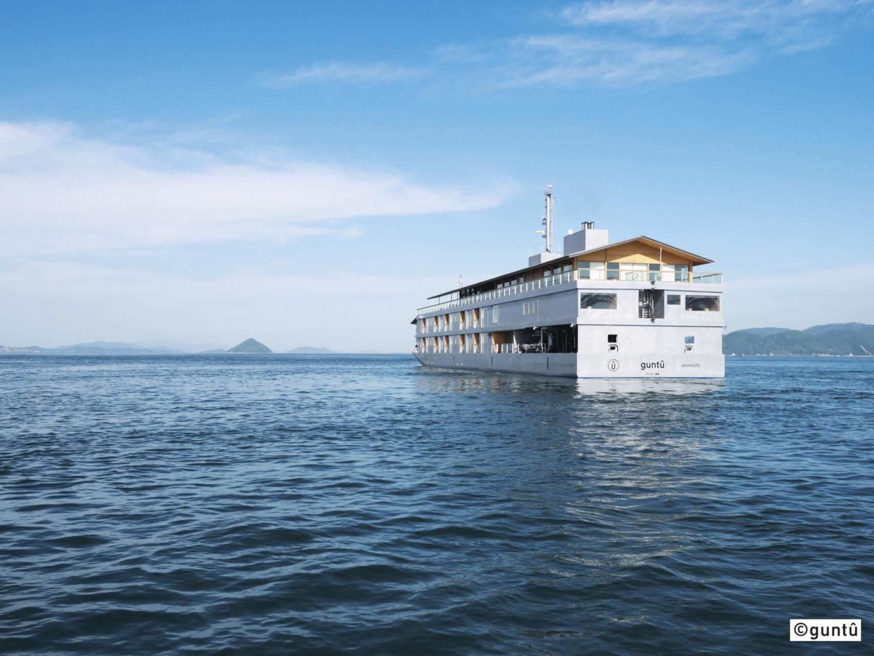 【国内・四国】 道後温泉ふなや宿泊 村上水軍ゆかりの能島 美しい瀬戸内海を巡るガンツウの船旅