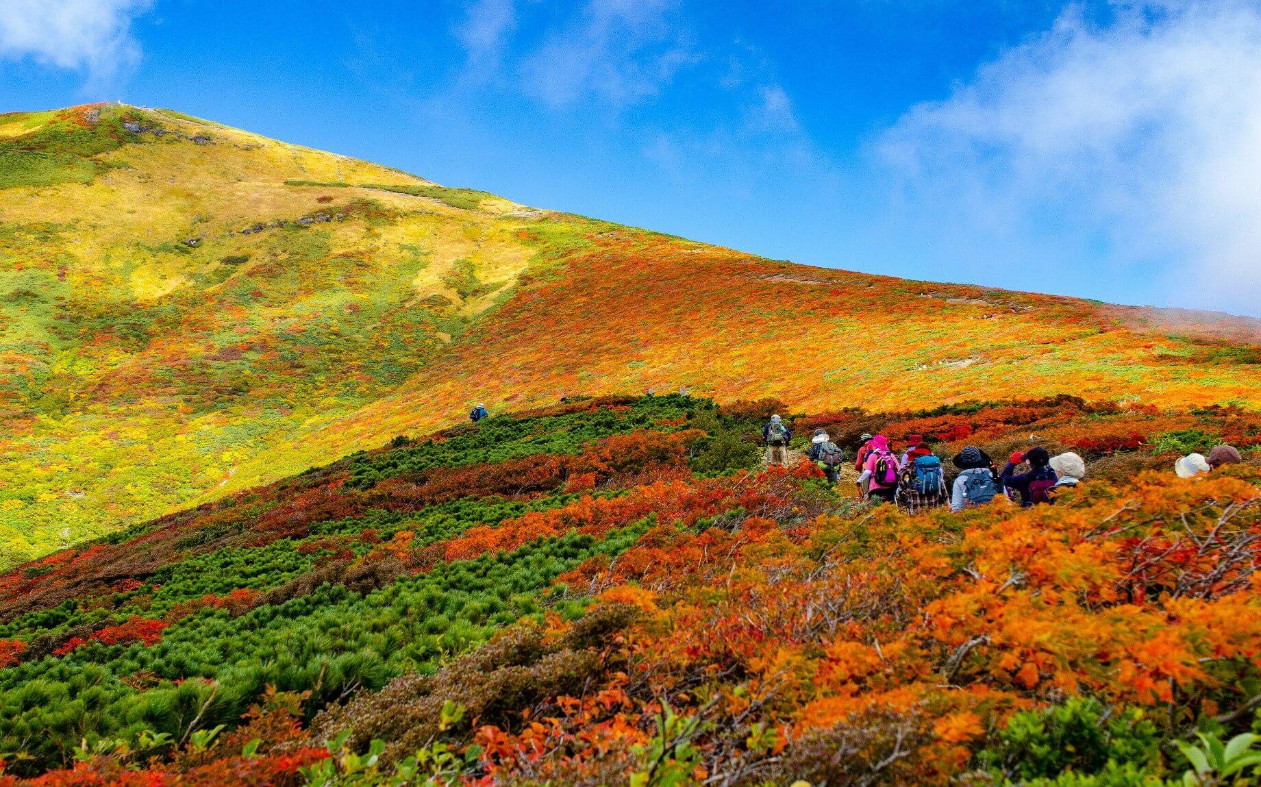 【国内・東北】 日本一の「神の絨毯」栗駒山の紅葉狩りと 一関滞在の旅